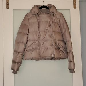 BCBGMaxazria ISAAC quilted puffer jacket